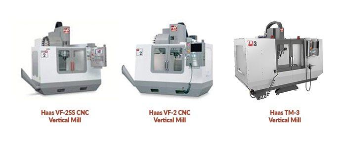 Various Haas Milling Tools