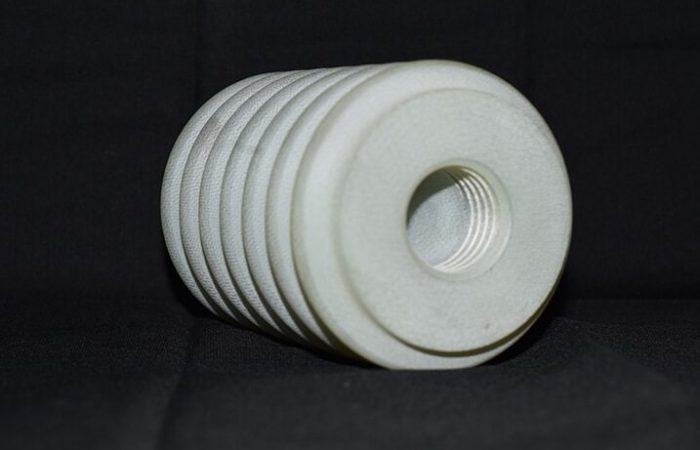 Rounded thermoset product produced by K&E Plastics