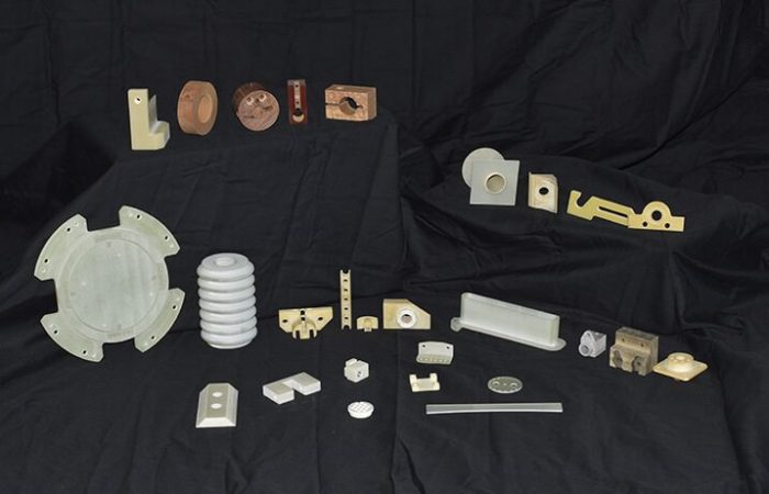 Assorted thermoset products produced by K&E Plastics